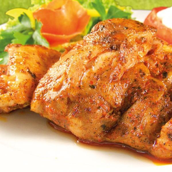 Hähnchen-Oberkeulen-Steaks in Marinade Severiner Art