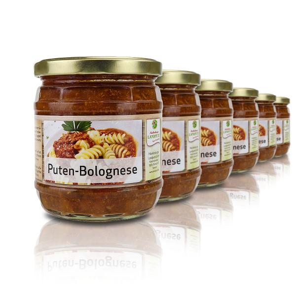 Puten-Bolognese
