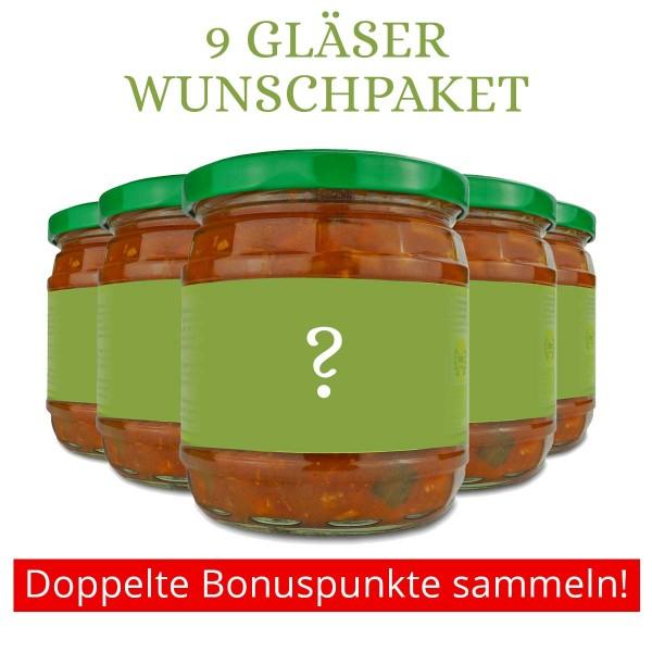 """Wunschpaket """"Spezialitäten im Glas"""""""