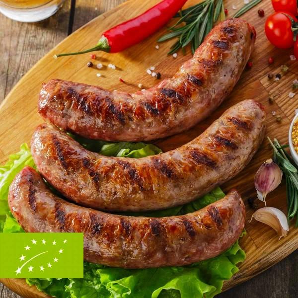 Bio Geflügel-Bratwurst, 3 Stück