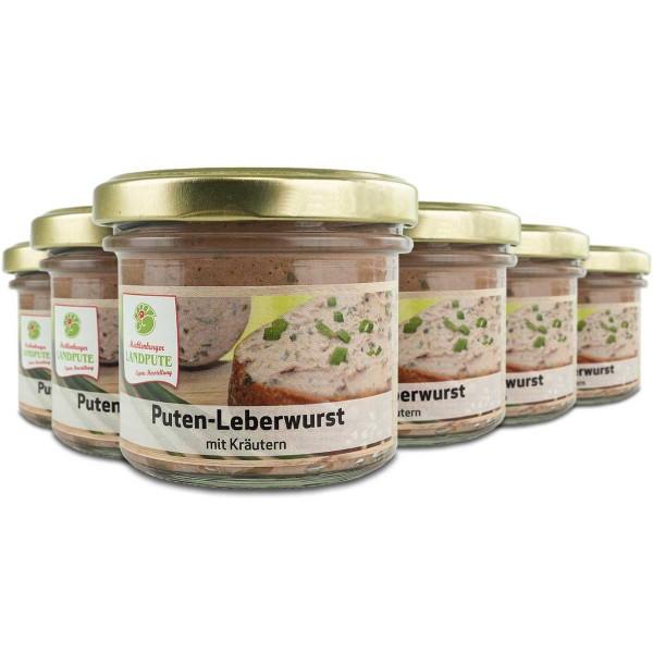 Puten-Leberwurst mit Kräutern