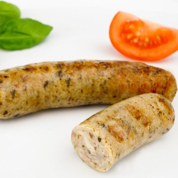 """De Bio Gockl"" Hähnchen-Bratwurst"