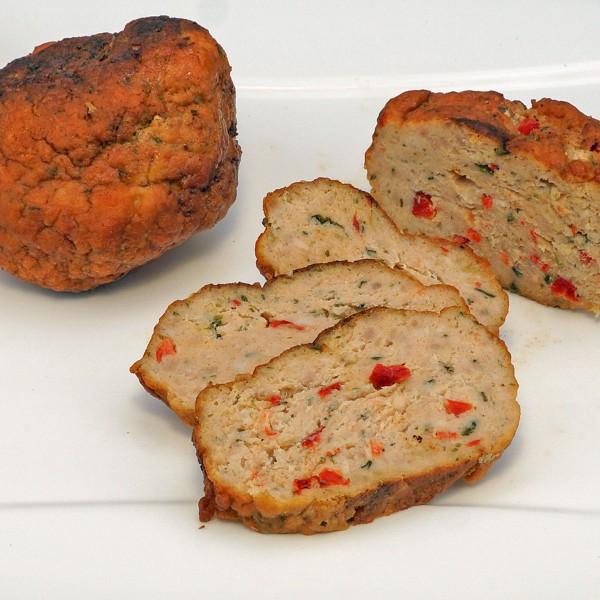 Puten-Gemüse-Klops gebraten
