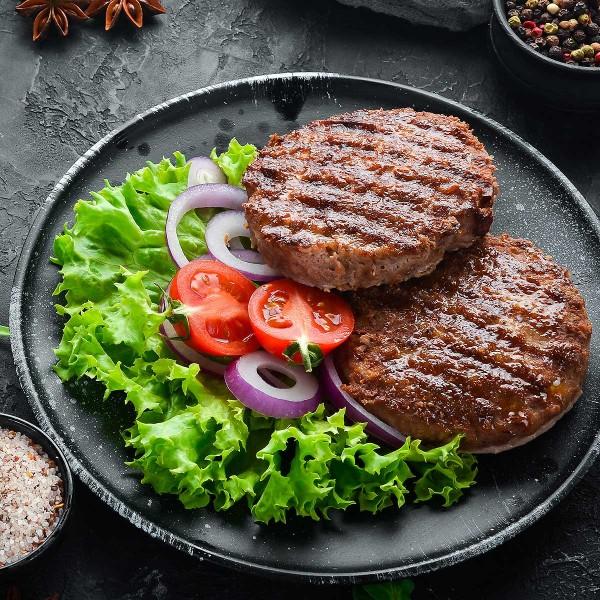 Bio Rindfleisch-Burger, 2 x 150g