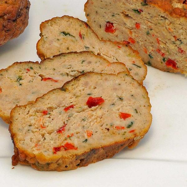 Puten-Gemüse-Buletten gebraten, 10 Stück